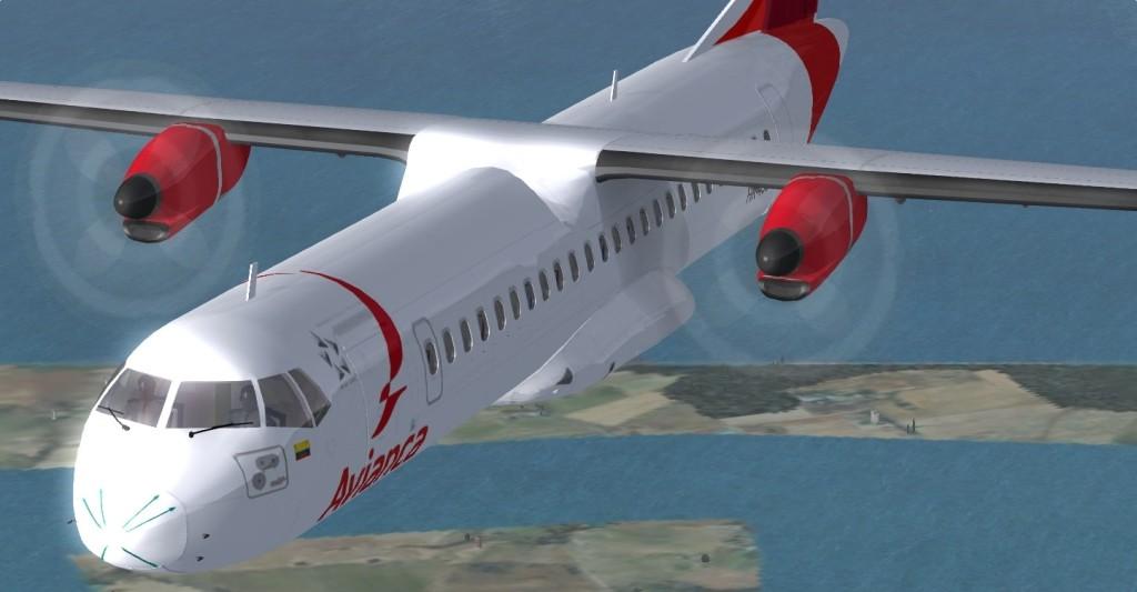 VIRTUALCOL - ATR 72 SERIES FOR FSX/P3D - Ariel Creation - Flight